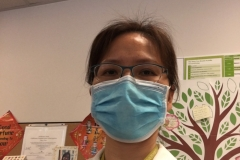Saving lives is a sacred duty.  Dedicated Bay Area dietitian on the front line of pandemic prevention